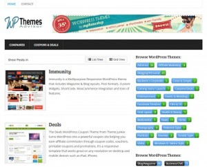 Screenshot of wpthemesadvisor.com - Find WordPress Themes Here