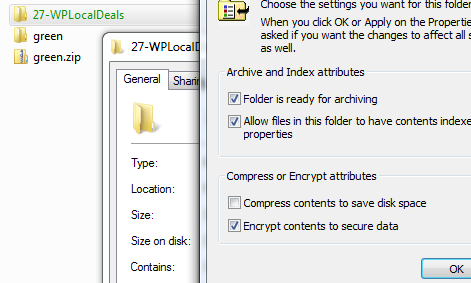 Problems With Green Files and Folders?